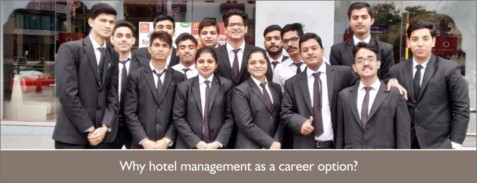 Why hospitality industry as a career option?
