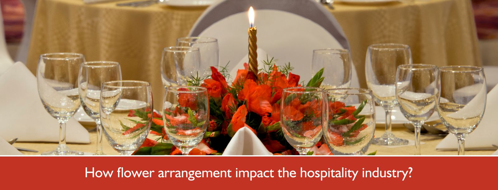 How flower arrangements impact the hospitality industry in 2019