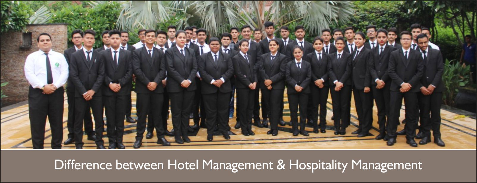 UNIQUE DIFFERENCES BETWEEN HOTEL MANAGEMENT AND HOSPITALITY MANAGEMENT