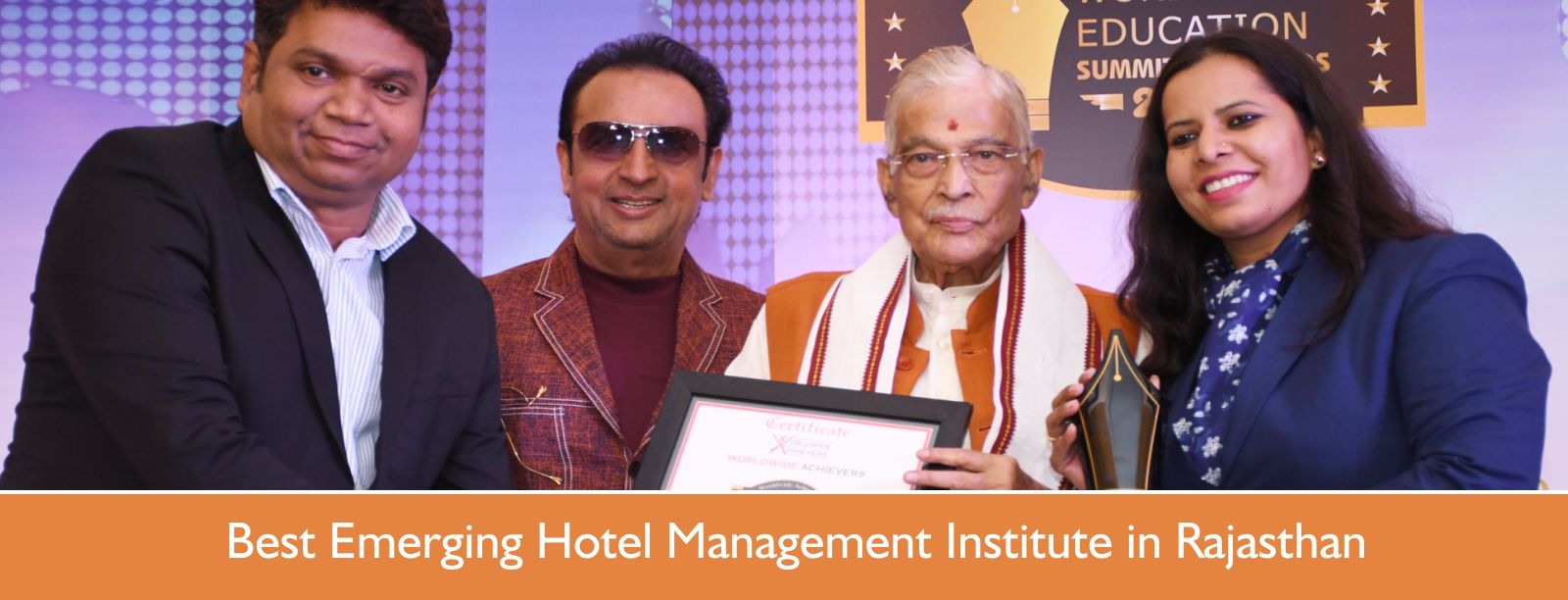 Best Emerging Hotel Management Institute in Rajasthan