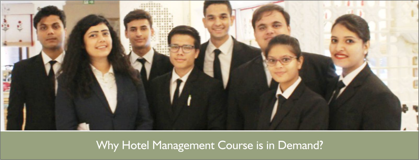 WHY HOTEL MANAGEMENT COURSE IS IN DEMAND?