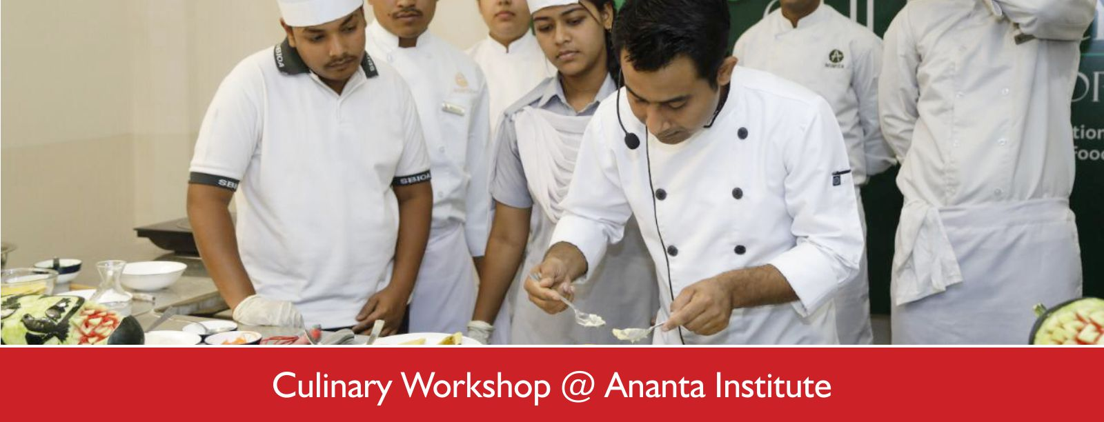 Culinary workshop @ Ananta Institute